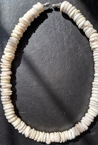 Other - Hand Crafted Genuine Pooka Shell Necklace